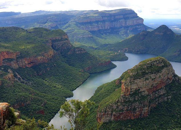 "Blyde River Canyon – cel mai ""verde"" canion al planetei"