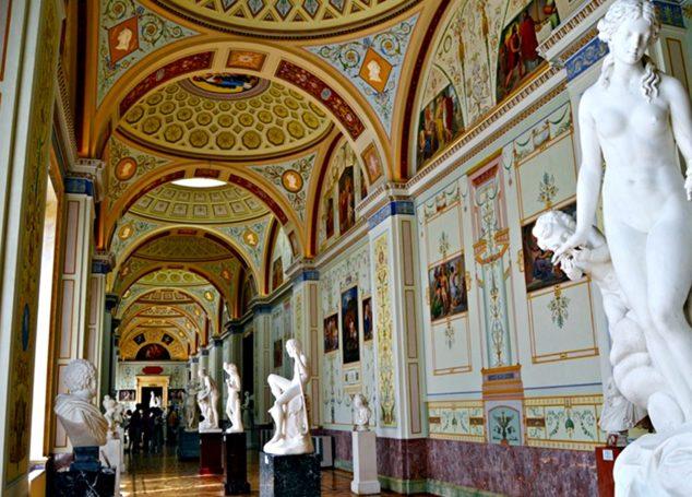 Hermitage- muzeul exclusivist al țarilor ruși
