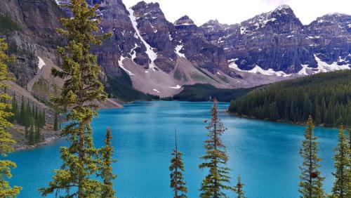 banff lake 0