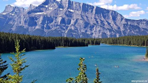banff lake 15