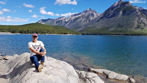 banff lake 16