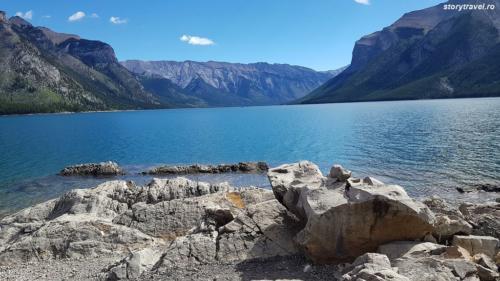 banff lake 20