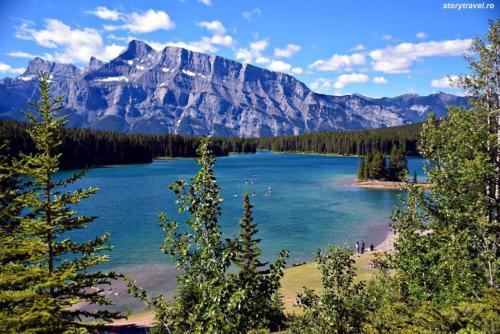 banff lake 23