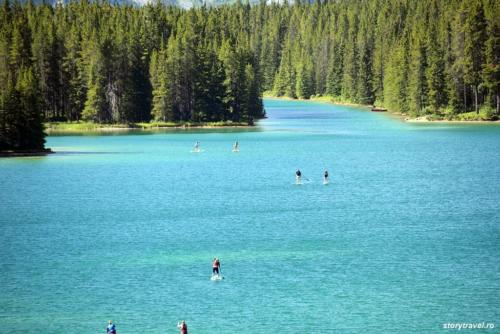 banff lake 26