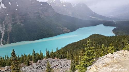 banff lake 55